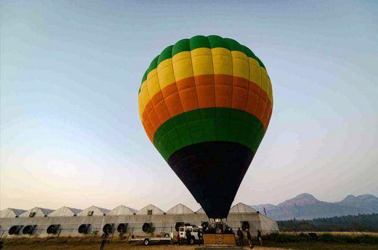 Safári em balão de ar quente na Reserva Balule, Grande Kruger