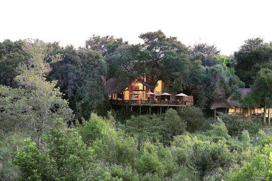 Campements du Parc Kruger | Lodge principal du Varty Camp de Londolozi
