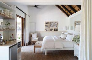 El diseño de las habitaciones de Londolozi Varty Camp