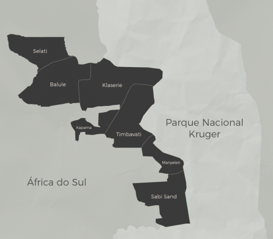 Mapa do Grande Kruger