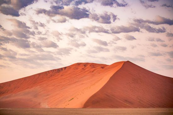 Rote Dünen in Namibia