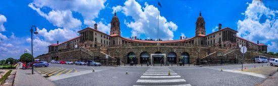 Edificios de la Unión, en Pretoria