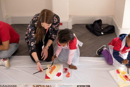 A sus cinco años, los peques demostraron ser auténticos artistas