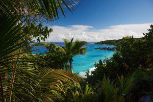 A bay in Seychelles