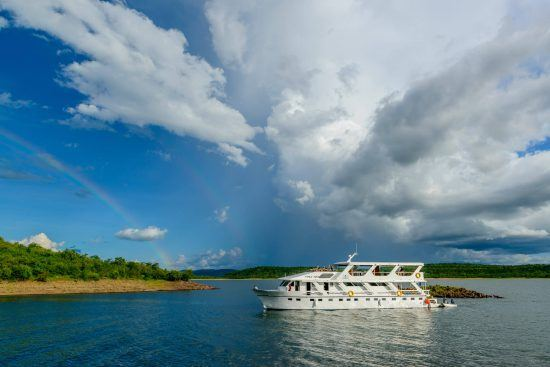Lake Kariba is the largest man-made lake in the world