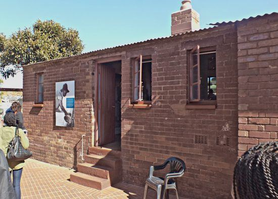 La casa de Nelson Mandela en Soweto