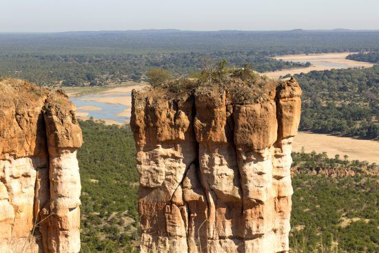 From Chilo Gorge Safari Lodge guests can explore this rugged national park