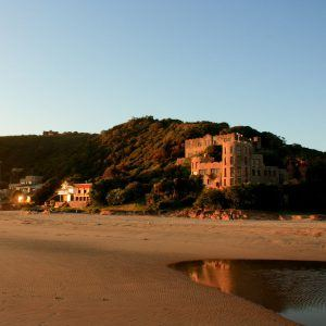 sunset-at-noetzie-beach-castle-knysna-south-africa