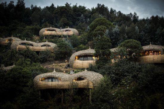 Uno de los campamentos ecológicos de Wilderness Safaris