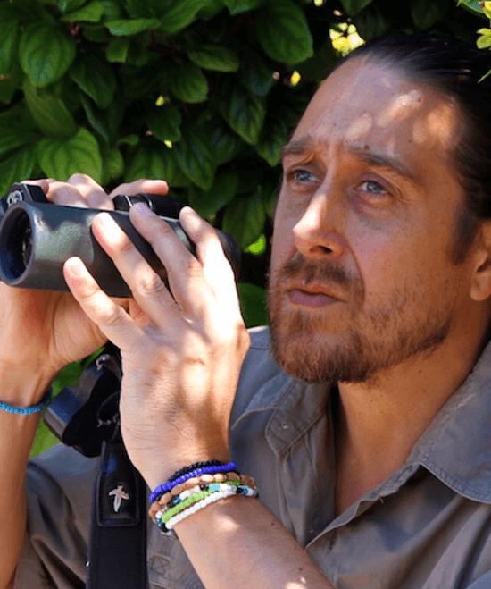 Vernon Head, arquiteto e escritor sul-africano apaixonado por aves