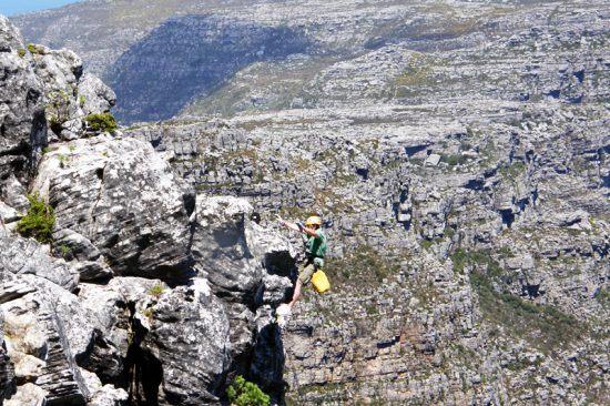 Rapel: um jeito diferente de explorar a Table Mountain