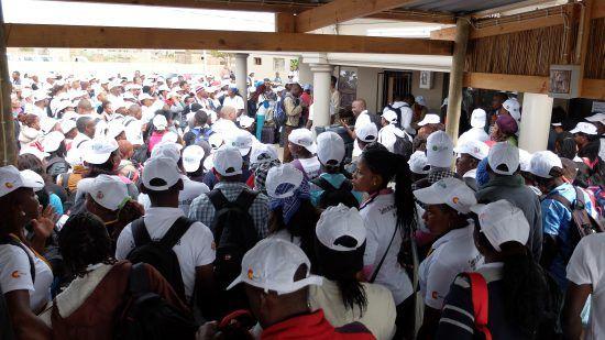 La coordinación con los trabajadores locales ha sido clave para el desarrollo del proyecto