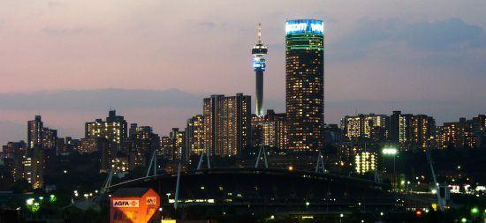 Johannesburgo, capital económica de Sudáfrica