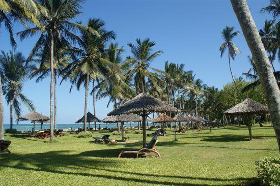 Las idílicas costas de Mombasa, en la zona oceánica de Kenia