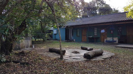 Campement Wildlife ACT pour les volontaires de la protection animale.