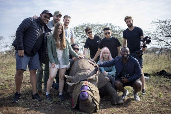 Rhino Africa auf Nashorn-Expedition