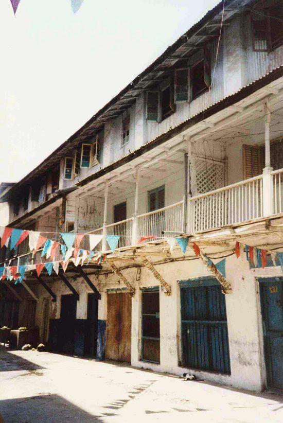 La casa en Stone Town que vio crecer a Freddie Mercury.