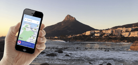 Header - Uber in Cape Town. Photo: Nathalia Marangoni