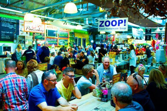 Feiras e mercados gastronômicos na Cidade do Cabo. Foto: Divulgação/Bay Harbour Market