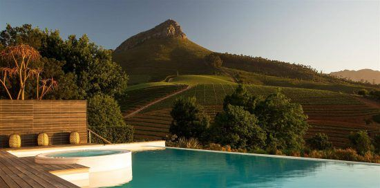 The Winelands region in the Cape is one of the reasons to visit South Africa now