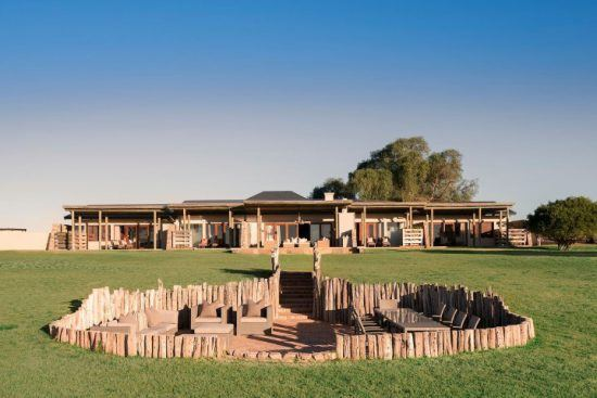 Das Fort House im Kwandwe Private Game Reserve