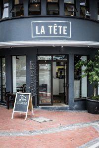 La Tête, l'un des meilleurs restaurants au Cap en Afrique Sud.