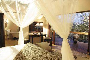 Vacances romantiques à Sabi Sand en Afrique du Sud pour un voyage safari de luxe.