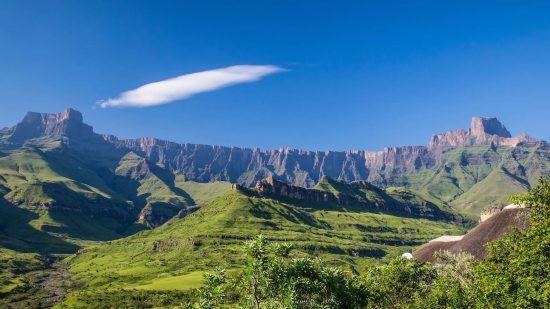 """El """"techo"""" de Sudáfrica"""