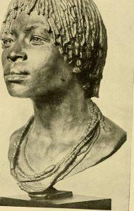 Différence entre le Congo et la RDC | Buste en bronze d'une femme bakongo