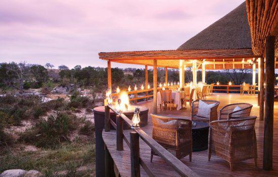 Campements du Parc Kruger | Terrasse du Founders Camp
