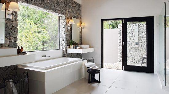 Campements du Parc Kruger   Salle de bain aux Private Granite Suites