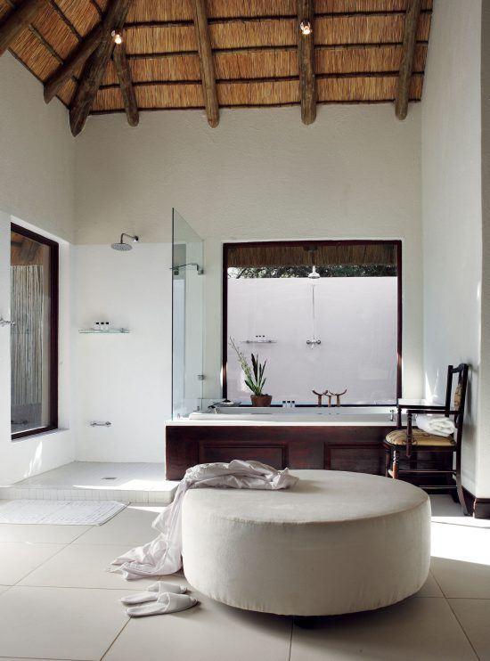 Campements du Parc Kruger | Salle de bain au Pioneer Camp