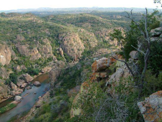 Die Lanner Gorge in der Region Pafuri im Krüger Nationalpark