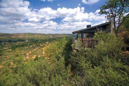 Die Lodge The Outpost eingebettet in die unberührte Natur Südafrikas