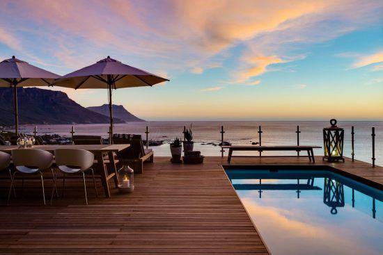Quartiers Cape Town | Magnifique vue depuis la terrasse du Cape View Clifton