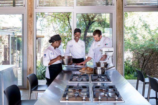 Una excelente cocina, seña de identidad de Singita