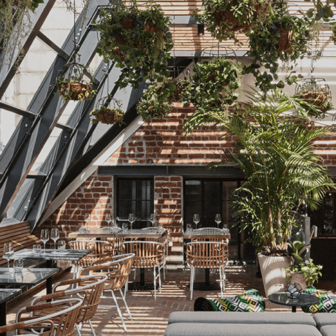 GiGi at Gorgeous George is the newest and hottest among the slew of rooftop bars in Cape Town