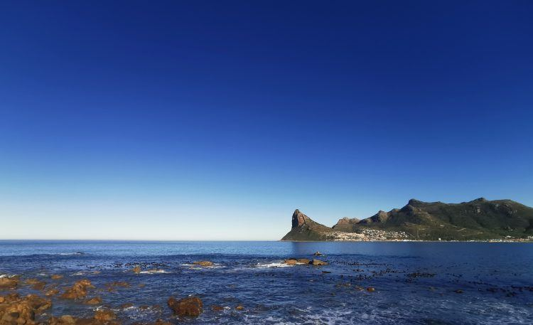 View from main deck at Tintswalo Atlantic Boutique Hotel