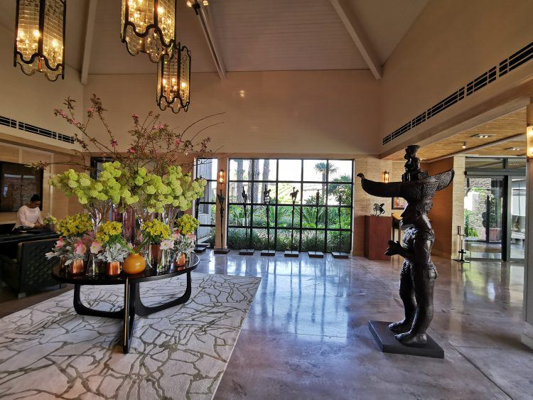 Delaire Graff Estate foyer in Stellenbosch Winelands