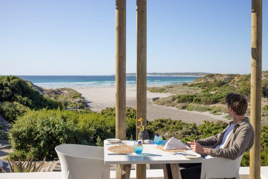 Strandloper Ocean Boutique Hotel's expansive views