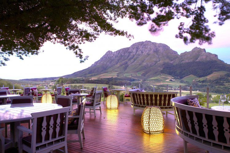 Delaire Graff Restaurant in Stellenbosch Winelands