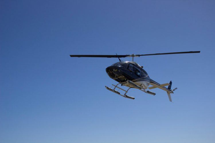 NAC Helicopter takes off in Cape Town