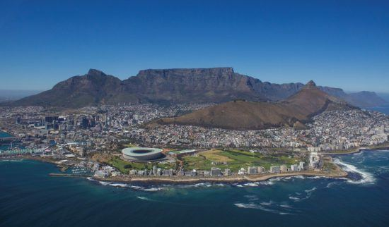 NAC Helicopter Flight Cape Town