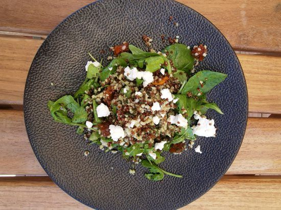 Orange and Fynbos Honey Roasted Butternut and Bulgar Wheat Salad