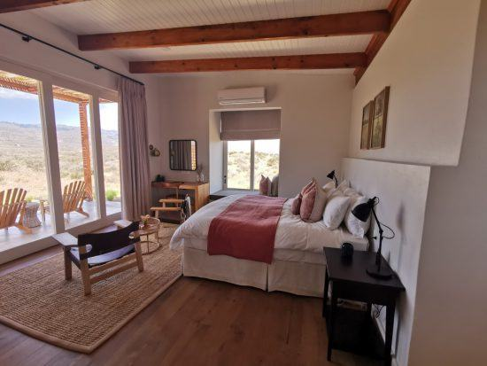 Bedroom at Cederberg Ridge Wilderness Lodge in the Cederberge