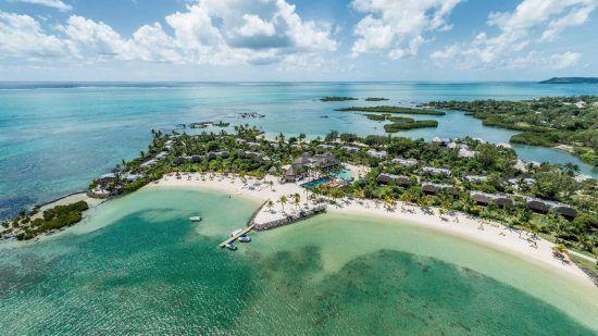 Four Seasons Resort Mauritius on the island of Mauritius