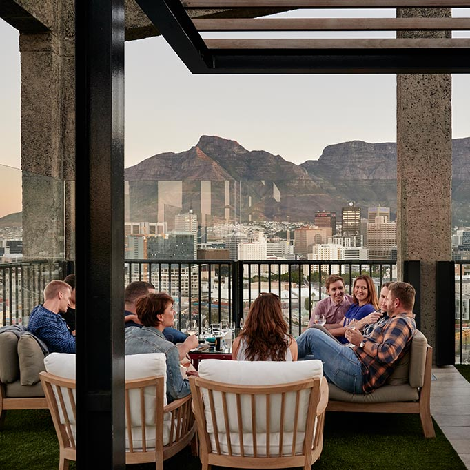 The Silo Rooftop is perhaps one of the best rooftop bars in Cape Town