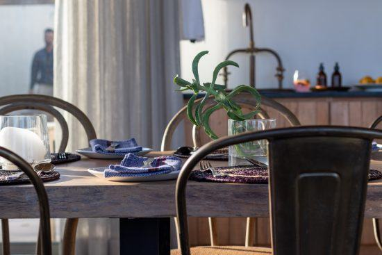 Lekkerwater Beach Lodge's chic interiors perfectly match the gorgeous exteriors
