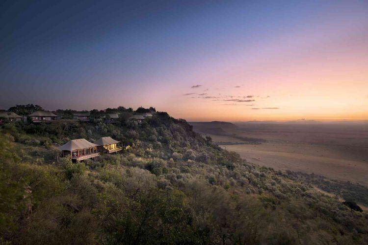 Angama Mara Tented Camp in Kenya