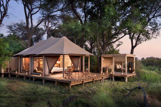 Nxabega Okavango Tented Camp in the Okavango Delta